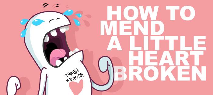 Video - How to mend a little heart broken